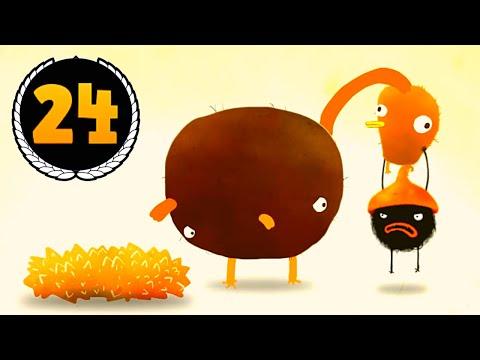 ПРИКЛЮЧЕНИЯ ЧУЧЕЛ мультик игра для маленьких детей #24 - игровой мультфильм 2018 Chuchel Летсплей
