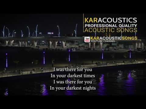 Maps (acoustic karaoke) - Maroon 5