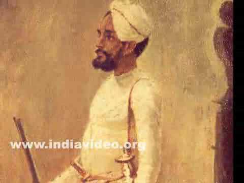 Rajput Soldier, a painting by Raja Ravi Varma