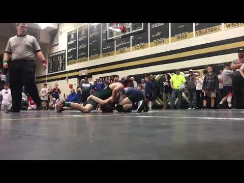 MATTY CRASHES INTO TABLE AT WRESTLING MEET!!!