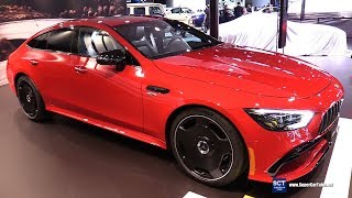 2019 Mercedes AMG GT 53 4 Doors - Exterior and Interior Walkaround - 2018 LA Auto Show