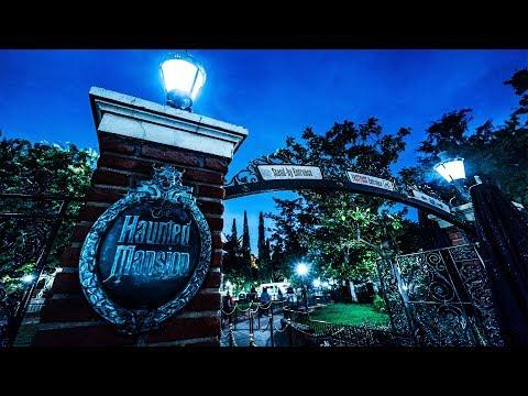 4K&立体音響!アメリカのディズニーランドにあるホーンテッドマンション Haunted Mansion Ride 2019