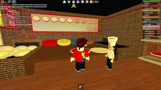 I work in a pizzeria on roblox #1