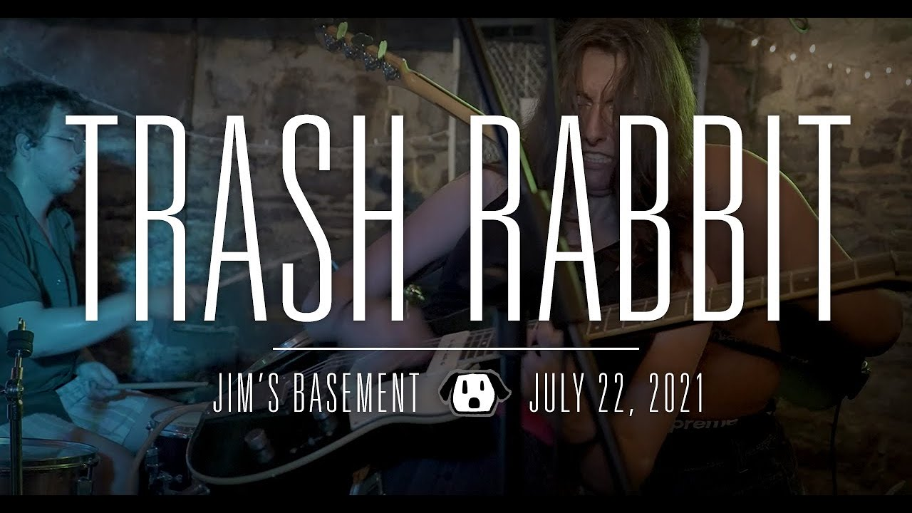 Trash Rabbit: Live at Jim's Basement - July 22, 2021 - Punk DIY Show Vermont Boston