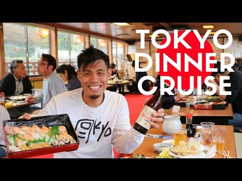 Yakatabune Tokyo Dinner Boat Cruise | All You Can Eat and Drink