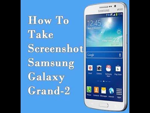 how to take screenshot on samsung galaxy grand