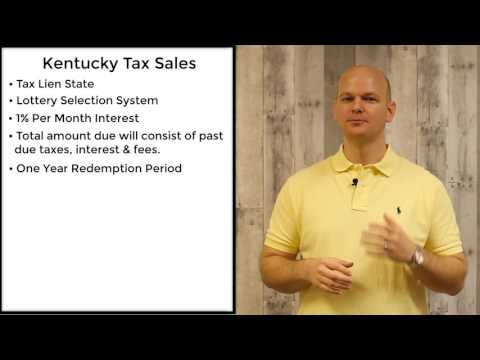 Kentucky Tax Sales – Tax Liens — Tax Sale Academy