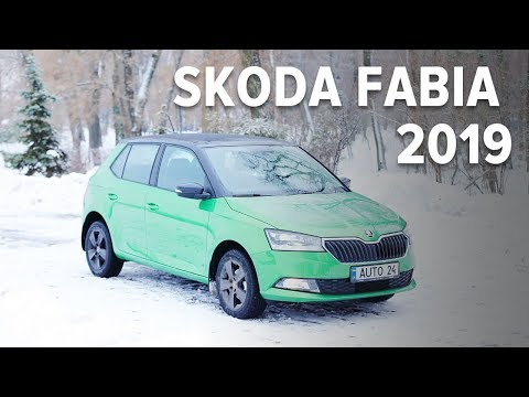 Skoda Fabia III поколение (рестайлинг) Хетчбек