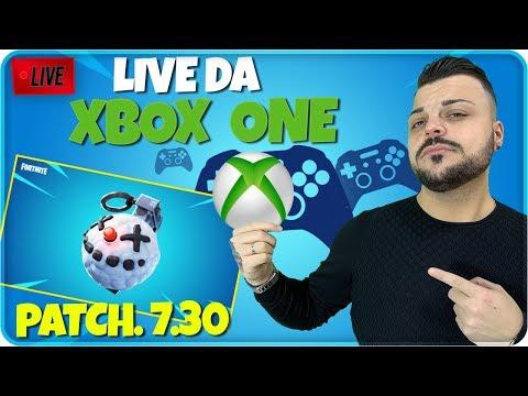 🔴 PRIMA LIVE DI FORTNITE DA XBOX ONE !!! FORTNITE PATCH 7.30 thumbnail