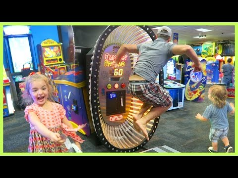FATHER BEATS CHUCK E. CHEESE RECORD!! | Sam Nia from YouTube · Duration:  17 minutes 23 seconds