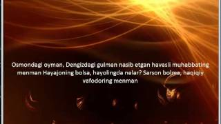 Yalla Habibi lyrics- Feruza Jumaniyozova
