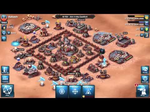 Star Wars: Commander Unstoppable HQ Level 5 Attacks Part 22