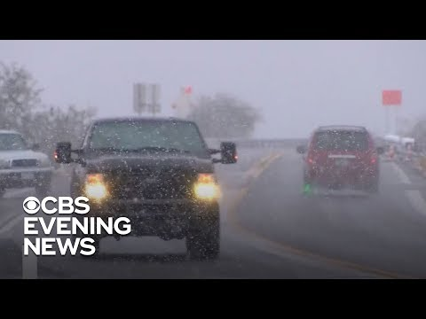 Winter storm brings snow to Arizona