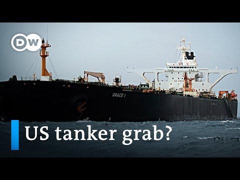 US seeks to seize Iranian oil tanker | DW News