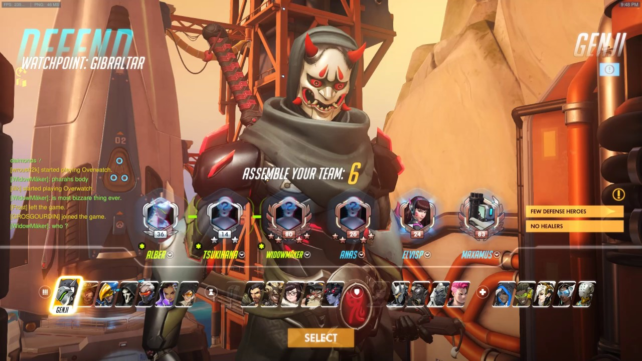 overwatch matchmaking removed