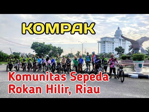 Gowes Bersama Komunitas Sepeda Rokan Hilir 2020