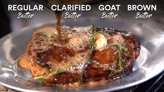 Finding the Best BUTTER for Steak Basting!