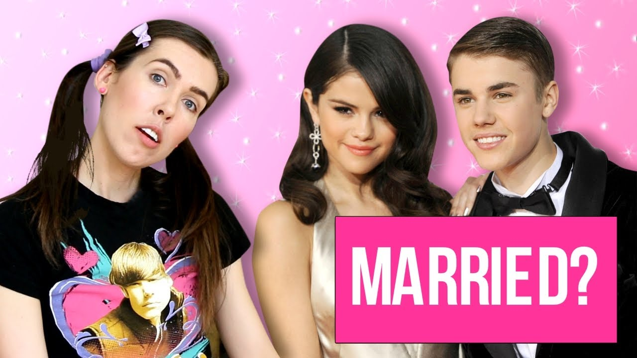 Justin Bieber and Selena Gomez MARRIED? - YouTube