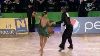 2014 Vienna World Open LAT | The Semi-Final and Final Reel | DanceSport Total
