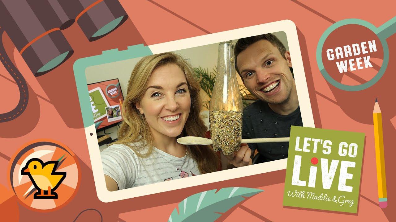 Bird Spotting In Your Garden | Garden Week | LET'S GO LIVE with ...