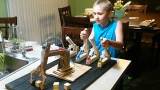 Hydraulic Crane Backhoe Science Fair Project