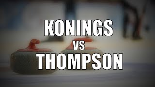 2019 ONT Mixed Doubles Champs - Konings vs Thompson