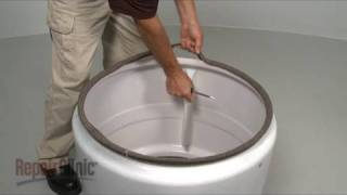 Dryer Drum Seal Replacement – Whirlpool/Kenmore Dryer Repair (part #280114)