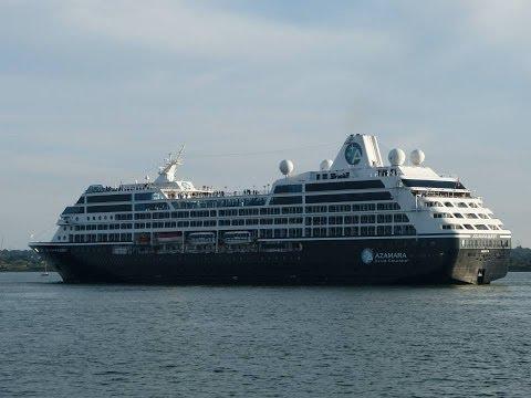 """Oceana"", ""Caribbean Princess"", ""QV"", ""Azamara Quest"" & ""AIDAstella"" in Southampton - 16/08/2013"