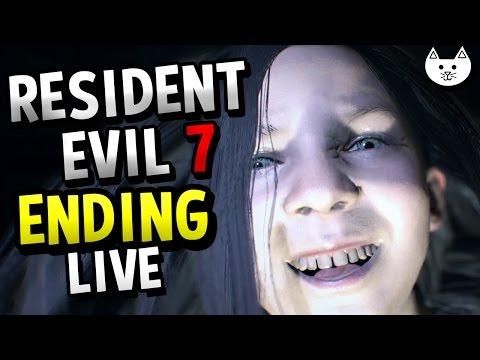 Resident Evil 7 ENDING FULL GAME  - ( Resident Evil 7 Gameplay Livestream #2 )