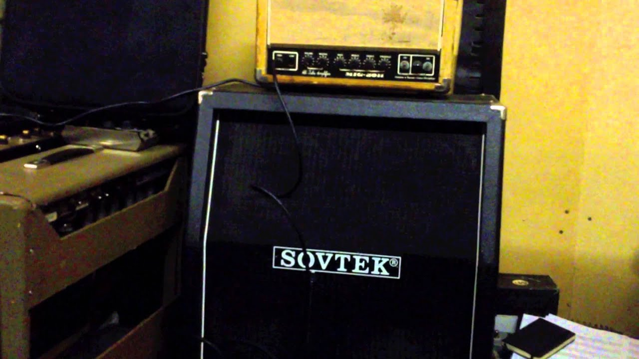 Marshall 4x10 Cabinet Jims Sovtek Mig 50h With Matching 4x10 Cabinet Youtube