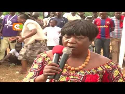 Gabriel Omolo alizikwa nyumbani kwake Oholo, Siaya,Alitunga wimbo 'Lunch Time'