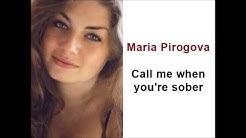 Maria Pirogova