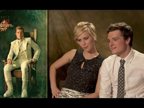 'Catching Fire' Cast React to Portraits