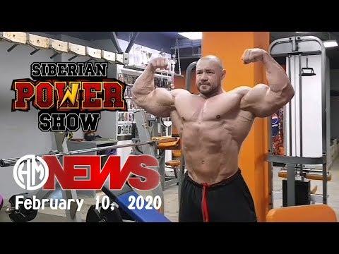 2020 Siberian Power Show. Неувядающий Алексей Тронов в процессе подготовки.