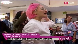 Download Video Teriaki Kriss Hatta di Persidangan, Nikita Mirzani: Gimana Kriss di Penjara? - iSeleb 25/04 MP3 3GP MP4
