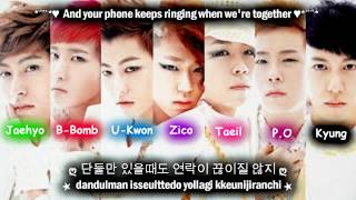 Block B Synchronization 100% [Eng Sub + Romanization + Hangul] HD