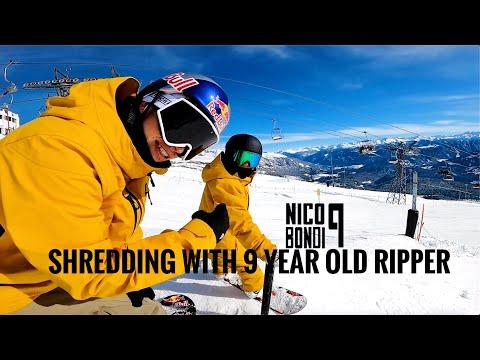 Marcus Kleveland - Shredding With 9 Y/o Ripper