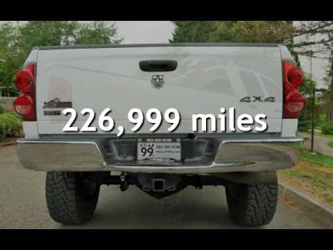 2008 Dodge Ram 2500 4X4 Lifted Tuned Deleted Long Bed 20S. for sale in Milwaukie, OR