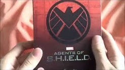 Agents of Shield Season 2 Bluray Boxset Unboxing/Seasons 1&2 Comparison