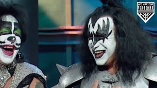 Gene Simmons Actually Enjoying Himself In A KISS Interview 2002 with Peter Criss & Paul Stanley