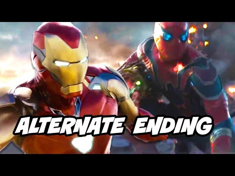 Avengers Endgame Alternate Ending Scene - Final Battle Deleted Scenes Breakdown