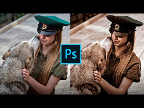 Тонирование фото. Создаем эффект сепии в Фотошопе