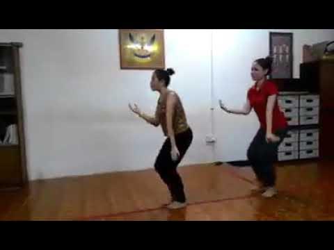 Ngajat Iban (sarawak) practice dance