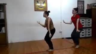 Ngajat Iban  Sarawak  Practice Dance