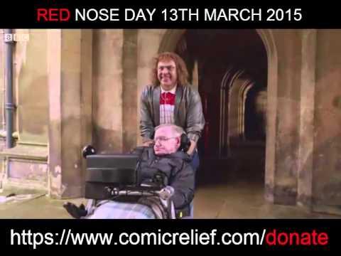 Stephen Hawking Little Britain Comic Relief Sketch