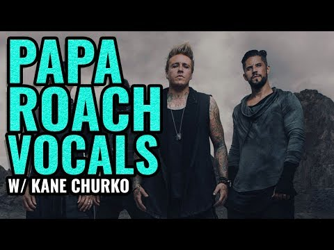PAPA ROACH vocal effects with Kane Churko