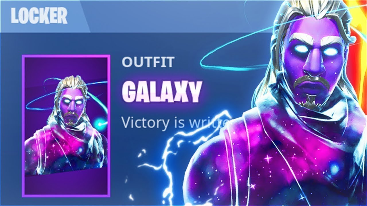How to get unreleased all skins in fortnite battle royale data mine tutorial galaxy skin - Fortnite galaxy skin free ...