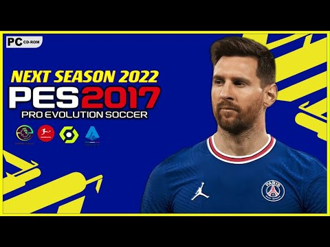 Download PES 2017   NEXT SEASON PATCH 2021/2022 AIO V1 UPDATE   AUG 8/28/2021    PC
