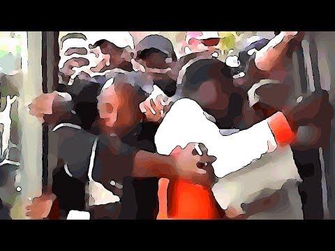 The Walking Migrants | Black horde inside a bus