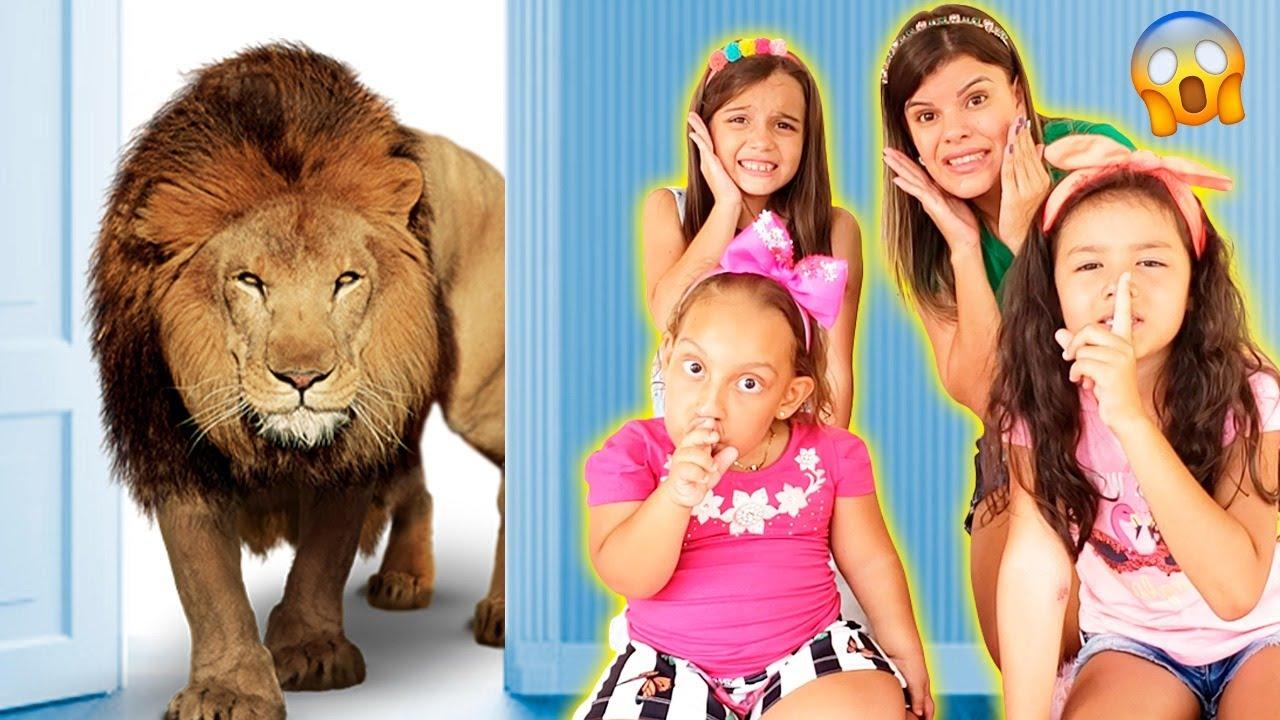 As crianças realmente querem ter um animal de estimação | شفا خافت من النمر  - Família MC Divertida